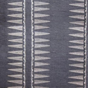 "Coral & Tusk ""Quill Slate Striae Linen"" in Slate"