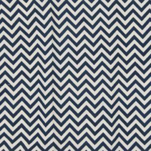 "Alamwar ""Chevron"" in Indigo Blue"