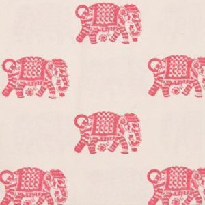 "Alamwar ""Elephant Walk"" in Pink"