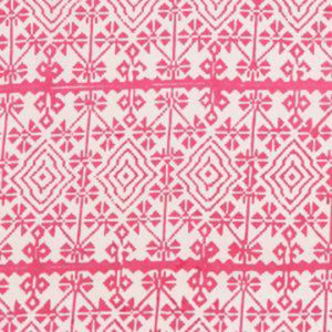 "Alamwar ""Ikat"" in Hot Pink"