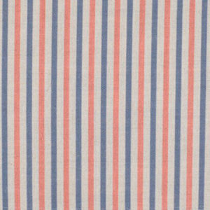 "Alex Conroy Textiles ""Small Stripe"" in Ruby/Clover"
