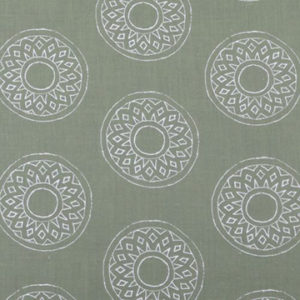"Alex Conroy Textiles ""Large Gujarat Reverse"" in Clover"