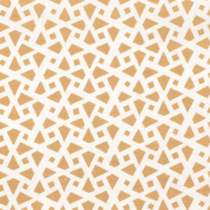 "Alex Conroy Textiles ""Mughal Lattice Small Reverse"" in Desert"