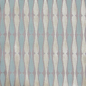 "Allegra Hicks ""Cut Velvet Dragonfly"" in Taupe Aqua"