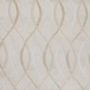 "Allegra Hicks ""Cut Velvet Infinity"" in Beige Snow"