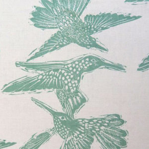 "Anne Kirk Textiles ""Birds"" in Seaglass"