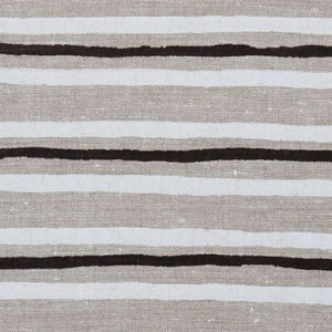 "Anne Kirk Textiles ""Chandra"" in Black White"