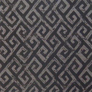 """Anne Kirk Textiles """"Meander"""" in Graphite & Currant"""