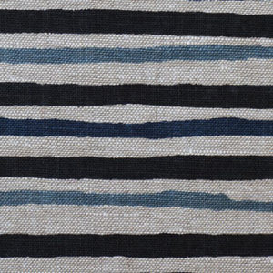 "Anne Kirk Textiles ""Tika"" in Midnight Blue"