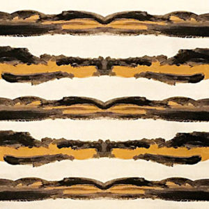 "Anthony George Home ""Campeche"" in Onyx & Marigold"