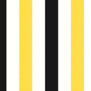 "Arley House ""Midi Stripe"" in Yellow Black 3"