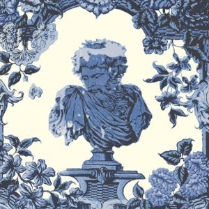 "Arley House ""Romano"" in Indigo L34"
