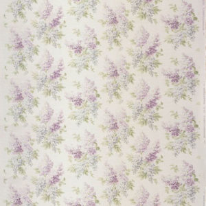 "Bennison Fabrics ""Lilac"" in Original on Oyster"
