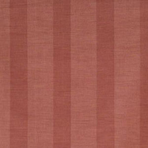 "Bennison Fabrics ""Wide Stripe"" in Red on Beige"