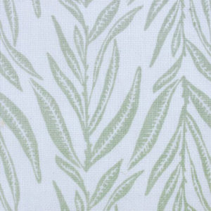 "Block and Brayer ""Leaves"" in Celadon"