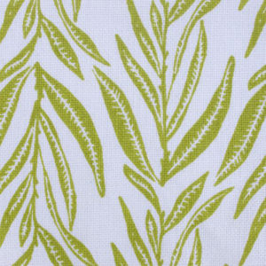 "Block and Brayer ""Leaves"" in Chartreuse"