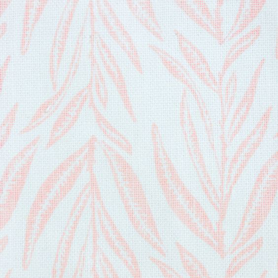 """Block and Brayer """"Leaves"""" in Pale Pink"""