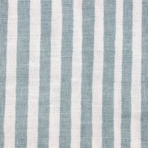 "Block and Brayer ""Mini Stripe"" in French Blue"