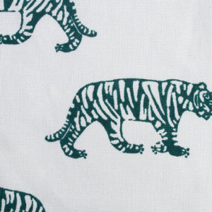 "Block and Brayer ""Tigers"" in Emerald"