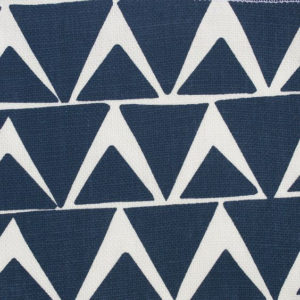 """Block and Brayer """"Triangles"""" in Navy"""