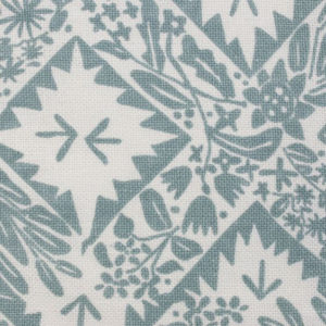 """Block and Brayer """"X Flower"""" in French Blue"""