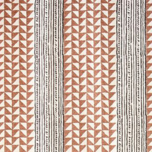 "Carolina Irving Textiles ""Aegean Stripes"" in Tobacco & Onyx"