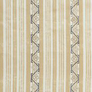 "Carolina Irving Textiles ""Chios"" in Beige with Blue"