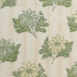 "Carolina Irving Textiles ""Lucknow"" in Green"