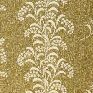 "Carolina Irving Textiles ""Mimosa Vine"" in Green"