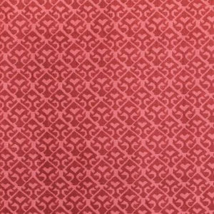 "Carolina Irving Textiles ""Tamar Tonal"" in Cinnabar"