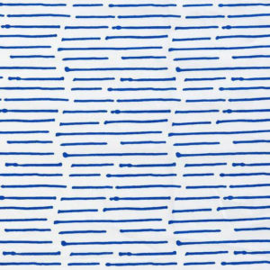 "Caroline Cecil "" ink Stripe"" in Cobalt"