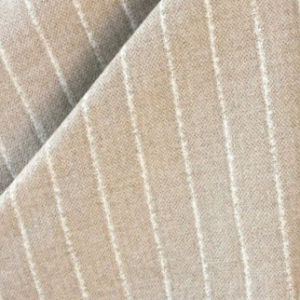 "Chris Barrett Textiles ""Gordan Stripe"" in Hazelnut"