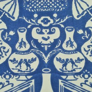"Clarence House ""Vase Chintz ""in Blues 3"