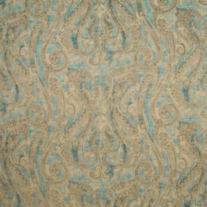 """Clarence House """"Carmen Paisley """"in Blue 2"""