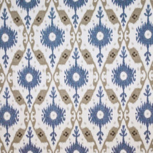 """Clarence House """"Chennai Ikat """"in Chambray 5"""