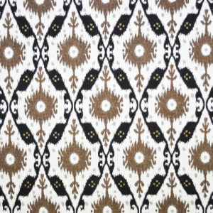 """Clarence House """"Chennai Ikat """"in Espresso 4"""