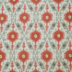 "Clarence House ""Chennai Ikat ""in Grey 2"