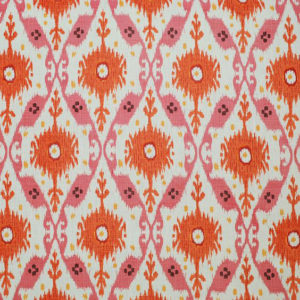 "Clarence House ""Chennai Ikat ""in Pink 1"