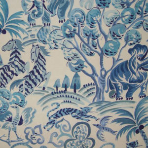"""Clarence House """"Congo """"in Blue 1"""