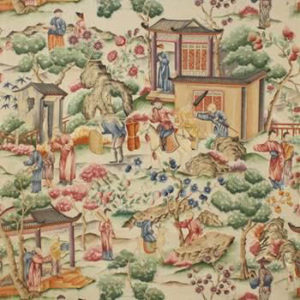 """Clarence House """"Grand Tableau Chinois"""" in Original 1"""