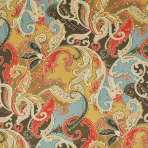 """Clarence House """"Hyderabad Paisley """"in Antique 2"""