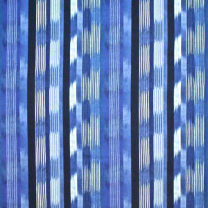 "Clarence House ""Madura Ikat ""in Blue 2"