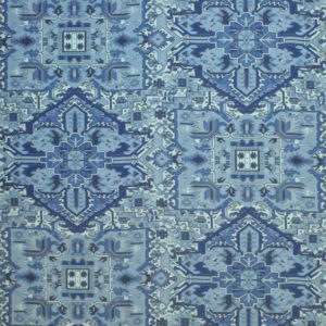 """Clarence House """"Turkish Carpet"""" in Blues 3"""