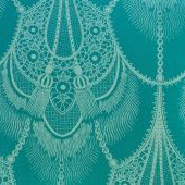 "Tulu Textiles ""Isadora"" in Green"