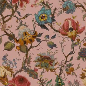 "House of Hackney for Liberty London Fabrics ""Artemis"" in Pink"