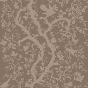"Timorous Beasties ""Birdbranch"" in Linen"
