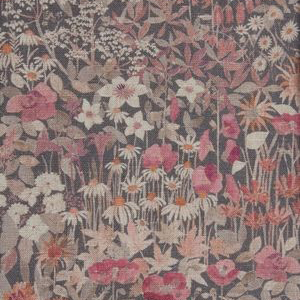 "Liberty London Fabrics ""Floral Clay"" in Silver Bells"