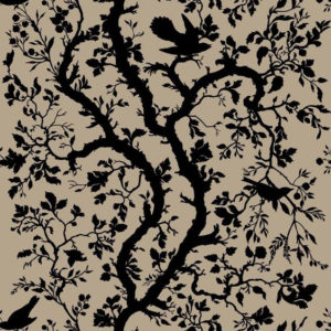 "Timorous Beasties ""Birdbranch"" in Black"