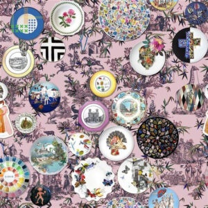 "Christian Lacroix for Designers Guild ""Folie"" in Myrtille"