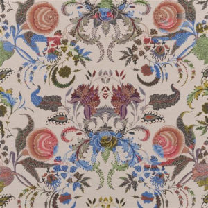 "Christian Lacroix for Designers Guild ""Noailles Naturel"" in Myrtille"
